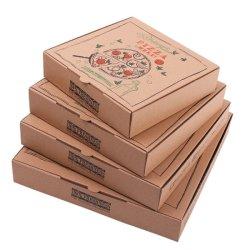 Verpakking de van uitstekende kwaliteit van het Voedsel plooide de In het groot Dozen van de Pizza