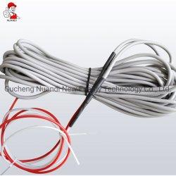 24K Resistência de fibra de carbono Aquecimento Cabos para aquecimento radiante