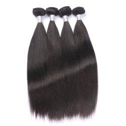 Qualitäts-brasilianisches indisches chinesisches rohes Jungfrau-Häutchen ausgerichtetes Haar-gerades Menschenhaar