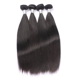Alta Qualidade brasileira de Fábrica/Indian/ Raw Peruano Virgem cutícula do cabelo alinhados um cabelo liso Prorrogação de cabelo humano
