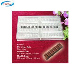 Classe de Elevada Qualidade Alimentar Material de PC do molde de Chocolate para diferentes formas de chocolate