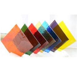 China Folha grossista fornecedor de vidro temperado Cor Vários Prédio laminado personalizados de vidro colorido temperado