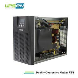 3kVA sinusoïdale pure Onduleur monophasé avec affichage LCD à LED et 30min pour la maison et bureau de sauvegarde