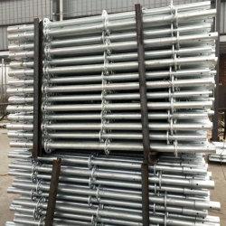 O-Tipo impalcatura standard verticale di HDG Ringlock Layher del materiale da costruzione