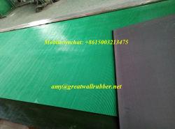 Preto verde Anti-Static tiras de borracha do piso de borracha de ESD