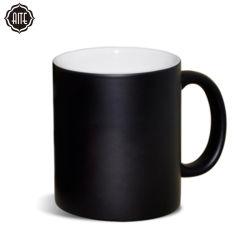 De warmtegevoelige Spaties van de Mok van de Sublimatie van de Koppen van de Reis van de Koffie van de Kleur Veranderende Magische Ceramische