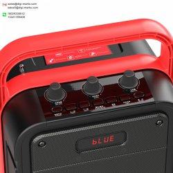 Altavoz portátil con altavoz Bluetooth manejar 10W4000mAh 3.7V
