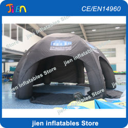 8m Inflatable Spider tente, tente dôme gonflable géant de l'Air, Air tente de l'événement