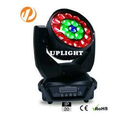 19*10W RGBW 4in1 급상승 이동하는 맨 위 빛