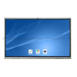 Multi-Touch 4K интерактивный ЖК-дисплей с сенсорным экраном для просмотра видео камеры совещания