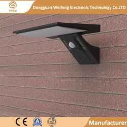 LEDの太陽エネルギーランプセンサー防水LEDの街灯屋外LEDの壁ランプライト機密保護の点の照明庭ライト