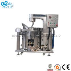 الصين المصنع سعر الموردون الصناعية الشوكولاته والكراميل الغاز الكهربائية الحلوة آلة طلاء الفشار للبيع