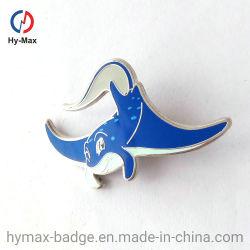 Reverspin-Hersteller-China-kundenspezifischer harter Decklack-ReversPin mit Schutzträger-Karte