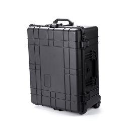Het harde Plastic Beschermende Laptop Geval van het Karretje van de Apparatuur met het Schuim van EVA
