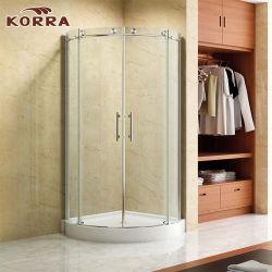 Receptáculo de ducha arco habitación con 2 puertas correderas