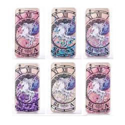 Handy-flüssiger Funkelnquicksand-Kasten für iPhone 6 6plus