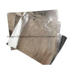 Tessuto Bruciare-Resistente del panno della vetroresina del di alluminio