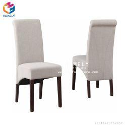 Commerce de gros Royal Dos haut utilisé imitation bois chaises de salle à manger