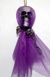 Disposizione di scena della barra KTV dei prodotti di Halloween la nuova Props le decorazioni d'attaccatura del cranio della gomma piuma che appendono i rifornimenti decorativi delle decorazioni