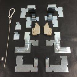 Conjunto completo de acessórios para painel de acesso de alumínio/acessório de alumínio