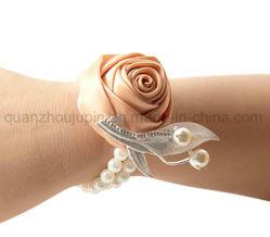 주문자 진주 결혼 신부 손목 꽃 팔찌