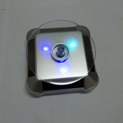 매장 귀금속 카운터 LED가 있는 태양광 회전 디스플레이 스탠드를 표시합니다