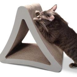 L'exercice Transat lit Pet Jouer Triangle Cat Scratcher carton vertical