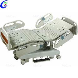 Уорд кормящих оборудование высокого качества с электроприводом ICU больничной койки многофункциональной рукоятки