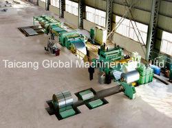 Aço inoxidável aço empilhamento automático de alta velocidade para linha de Comprimento de Corte