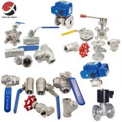 Fornecedor OEM personalizadas JIS NPT de Aço Inoxidável Válvula Solenóide/Gate/Bola/Verificar/Mundo/gás/água/Segurança/Control/Não Retornar/expansão/pneumáticos/Válvula do Atuador