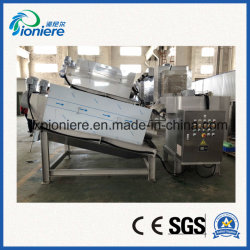 魚製品の排水処理のネジ式沈積物の排水システム