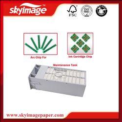 Cartouche de la puce d'encre pour Epson F6200/6070/6280 L'entretien du réservoir (C M Y BK)