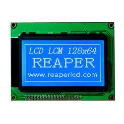 Il modulo grafico 128X64 dell'affissione a cristalli liquidi costruito in regolatore Nt7107/Nt7108 fa domanda per la sicurezza/elettrico/strumentazione
