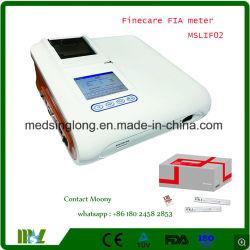 3.5インチLCDのタッチ画面の表示蛍光性のImmunoassay Mslif02/Poctの検光子Fiaのメートルが付いている急速で量的なテスト検光子