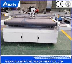 preço de fábrica 2516 CNC Automático Cortador Plotter de mesa máquina de corte da faca oscilante