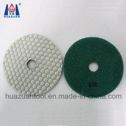 125mm Marbre Granit souple tampons de polissage de diamants à sec