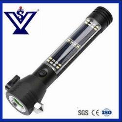 Marteau de sécurité multifonction solaire lampe de poche LED avec la Banque d'alimentation (SYSG-517)