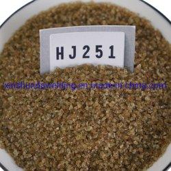 Hj251 Tipo fundido baixo teor de manganês e silício de média e média do fluxo de flúor