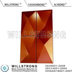 Fuegopaneles compuestos de aluminioLas hojas de revestimiento de aluminio exterior