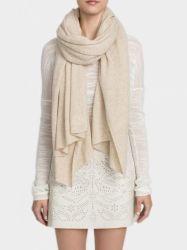 100% Cashmere Solid Color gebreide sjaal/sjaal voor dames