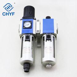 منظم فلتر الهواء المركب، Gfc200 Gfc300 Gfc400 وحدة خدمة الهواء الهوائية