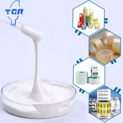 Baja viscosidad emulsión acrílica a base de agua adhesivos adhesivo de polímero acrílico //pegamento para PE película protectora y desmontables Notas