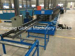 Rullo registrabile galvanizzato d'acciaio automatico del vano per cavi dell'acciaio inossidabile che forma macchina