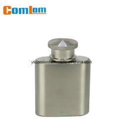 Cl1c-HN-1 Comlom 2oz Acier Inoxydable Mini ballon de la hanche de Whisky