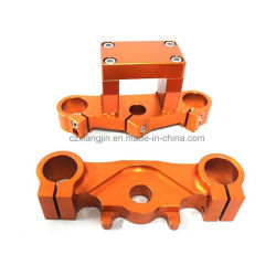 Motorcycle Upper and Bottom tripolarizes Clamp