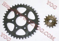 Yog Motorrad-Teil-Kettenrad-Installationssatz-Kette stellte für Bajaj Pulsar 200ns ein