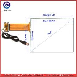 10.4 بوصة يسلّط [تووش سكرين] سعويّ (PCAP) مع [إيلي2511] جهاز تحكّم لأنّ لوح صناعيّة [بكس]