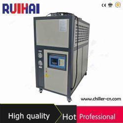 6HP/ 5rt Kunststoffmaschine Verwenden Sie umweltfreundliche Kältemittel R407c luftgekühlt Industrielle Wasserkühler