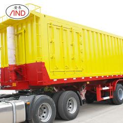 Professionele Productie voor Semi Aanhangwagen van de Stortplaats van het Vervoer van de Lading stortgoed de Achter