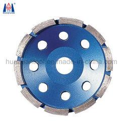 7インチのダイヤモンドセグメント粉砕のコップの車輪の単一の列ディスク